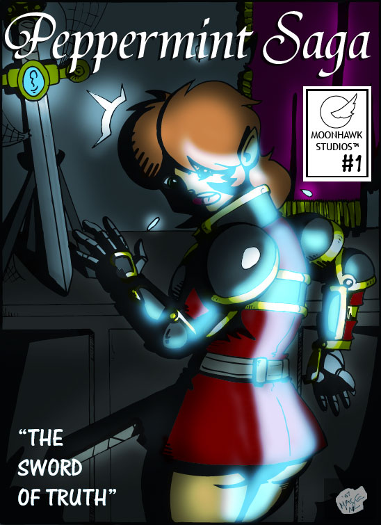 """Issue 1 Cover: """"The Sword of Truth"""""""