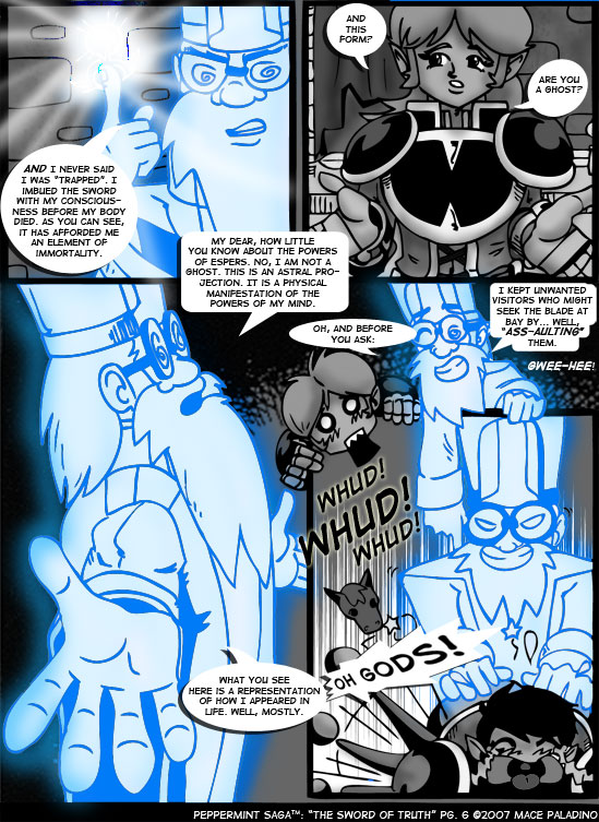 """""""The Sword of Truth"""" Page 6"""
