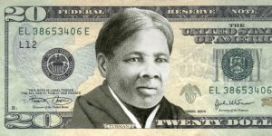 """(FILES) This file photo taken on April 29, 2015 shows an image provided by the """"Women On 20's"""" organization festuring abolitionist Harriet Tubman on the US twenty dollar bill.   Celebrated former US slave Harriet Tubman will replace President Andrew Jackson on the $20 banknote, the first time an African-American has been featured on US money, a Treasury official said April 20, 2016. The decision came after the Treasury came under pressure to put a woman on a different banknote soon to be revised, the $10 bill that features the first Treasury secretary Alexander Hamilton.  / AFP PHOTO / Women On 20's / Handout / RESTRICTED TO EDITORIAL USE - MANDATORY CREDIT """"AFP PHOTO / """"WOMEN ON 20'S"""" - NO MARKETING NO ADVERTISING CAMPAIGNS - DISTRIBUTED AS A SERVICE TO CLIENTS"""