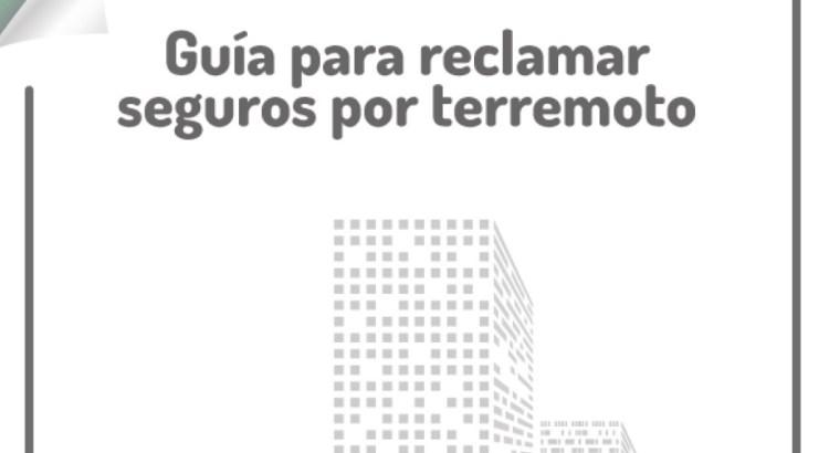 guía para reclamar seguros por terremoto