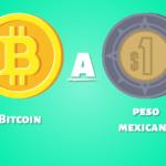 La cotización de criptomonedas ahora en pesos mexicanos