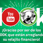 Ya somos 100K en YouTube