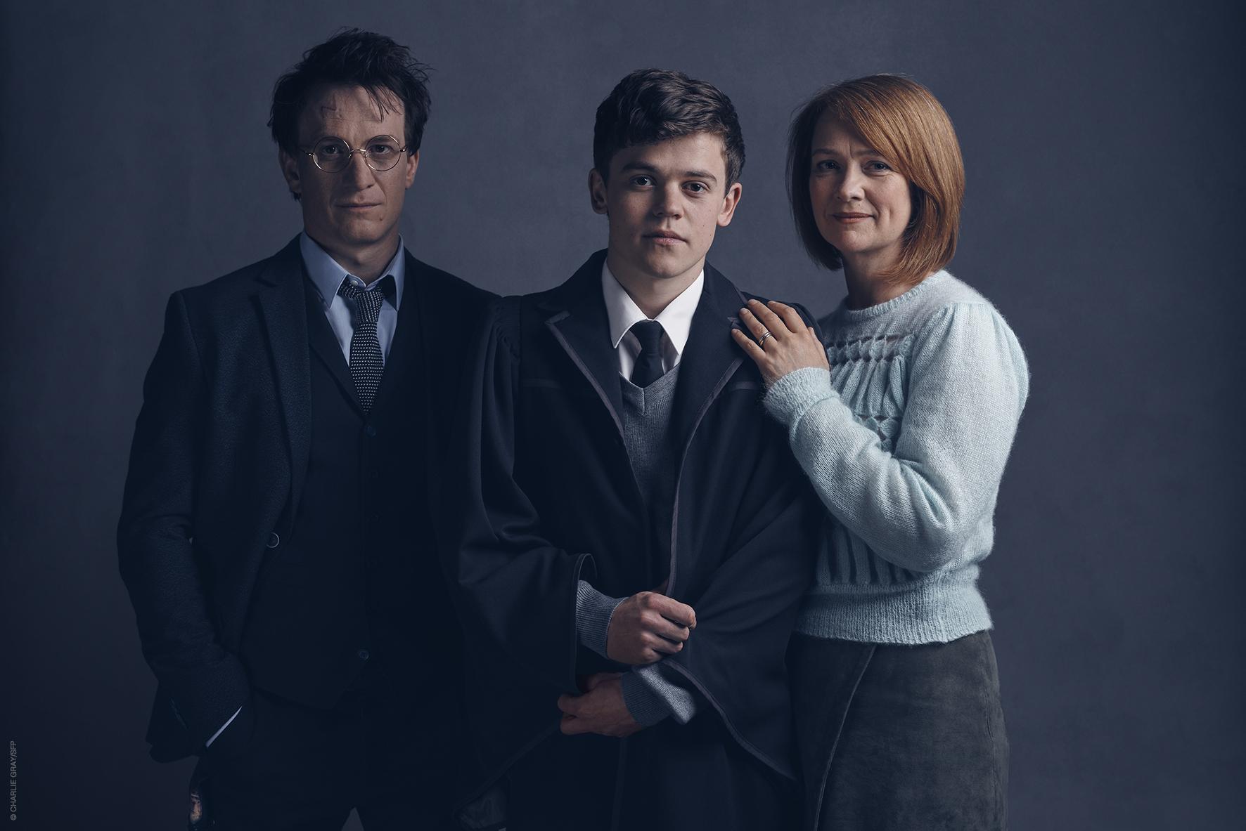 Harry, Ginny e Albus