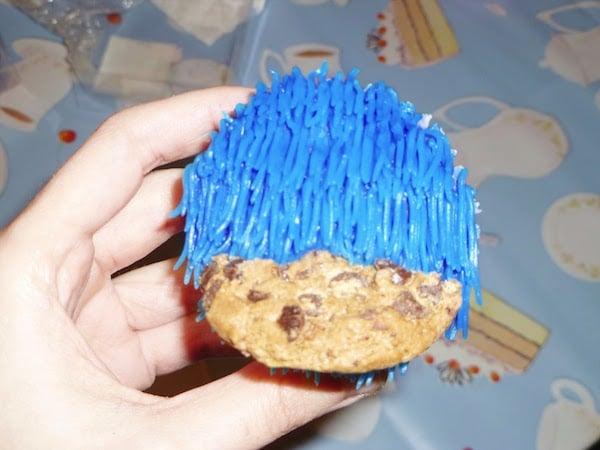 receta de cupcakes de barrio sesamo