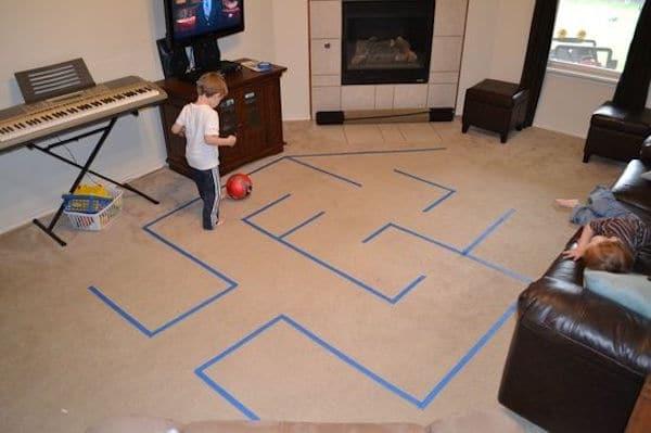 Resultado de imagen para juegos con niños en casa