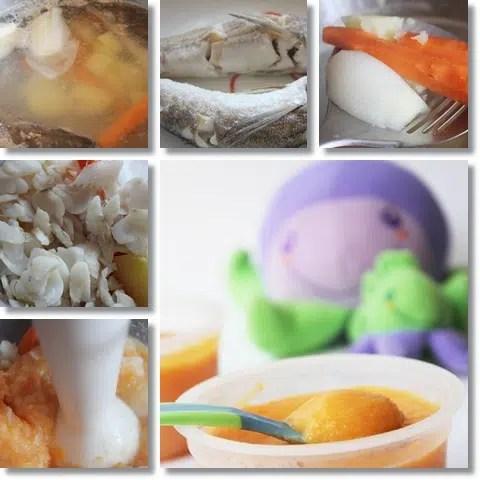 Pescadilla con verduras