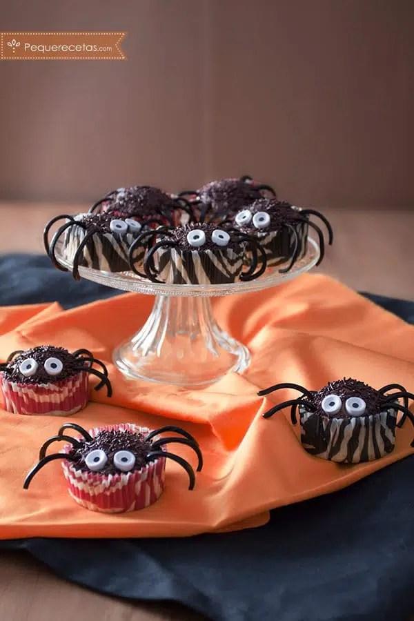 Cupcakes halloween, una receta terrorífica