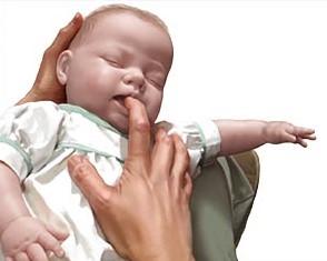 atragantamiento en bebes guia
