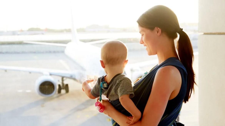 medio de transporte viaje con bebés