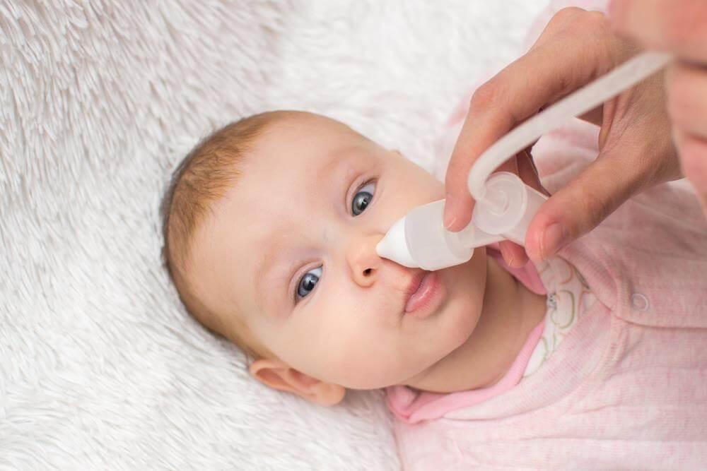 obstrucción nasal en bebes