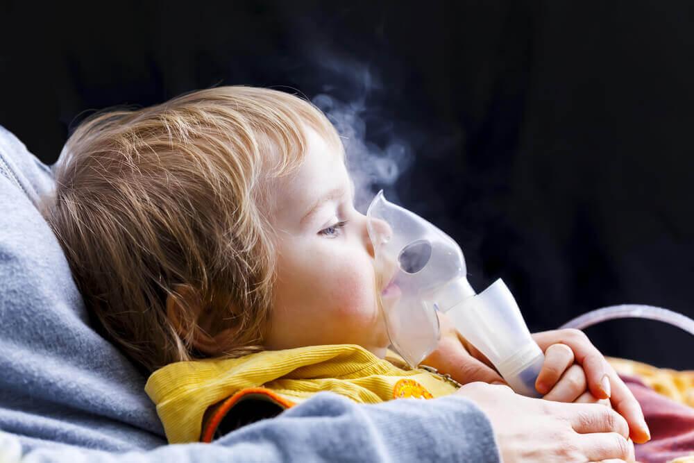 como nebulizar en niños