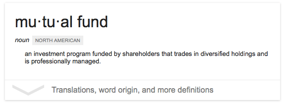 Mutual Fund definition in the Philippines