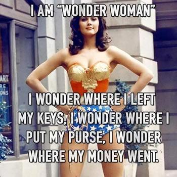 Wonder Woman on Money