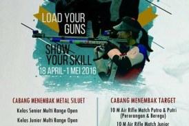 Kejuaraan Menembak UNHAS Air Guns 2016