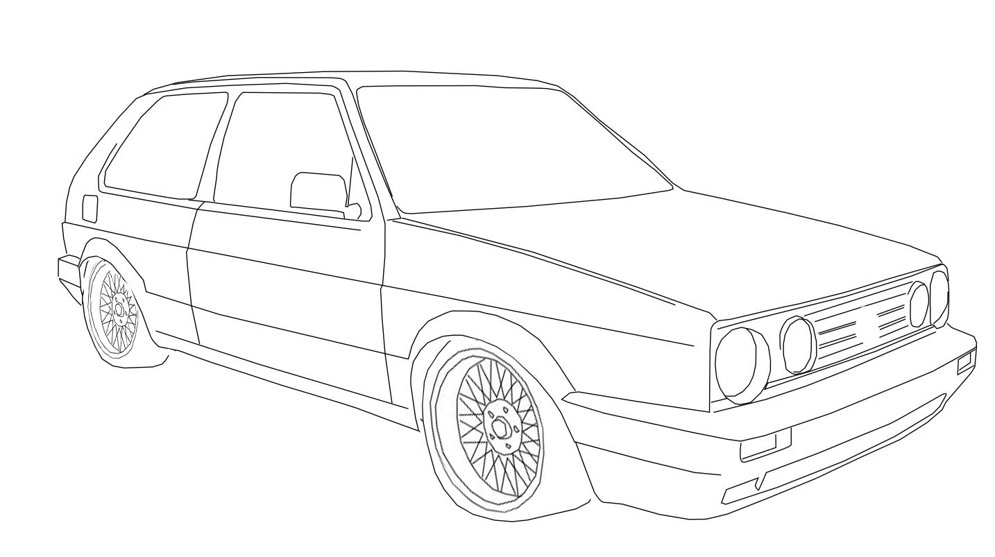 Fast And Furious Cars Drawings