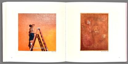 Photograph of interior of the book, Recent Forgeries by Viggo Mortensen