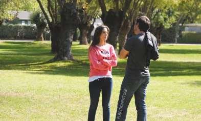 Amaya Ortiz (Girfriend) con el estilista de Abraha Luis Miguel.