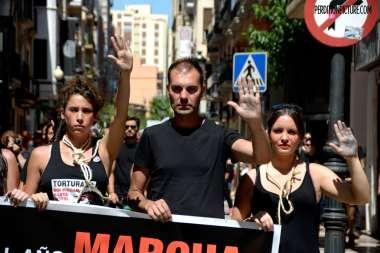 Manifestación Castellón