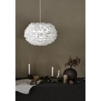 Lampe en plumes de la marque VITA   format medium