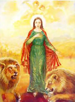 القديسة تقلا - 24 ايلول - كتاب الافراميات موقع سلطانة الحبل بلا دنس