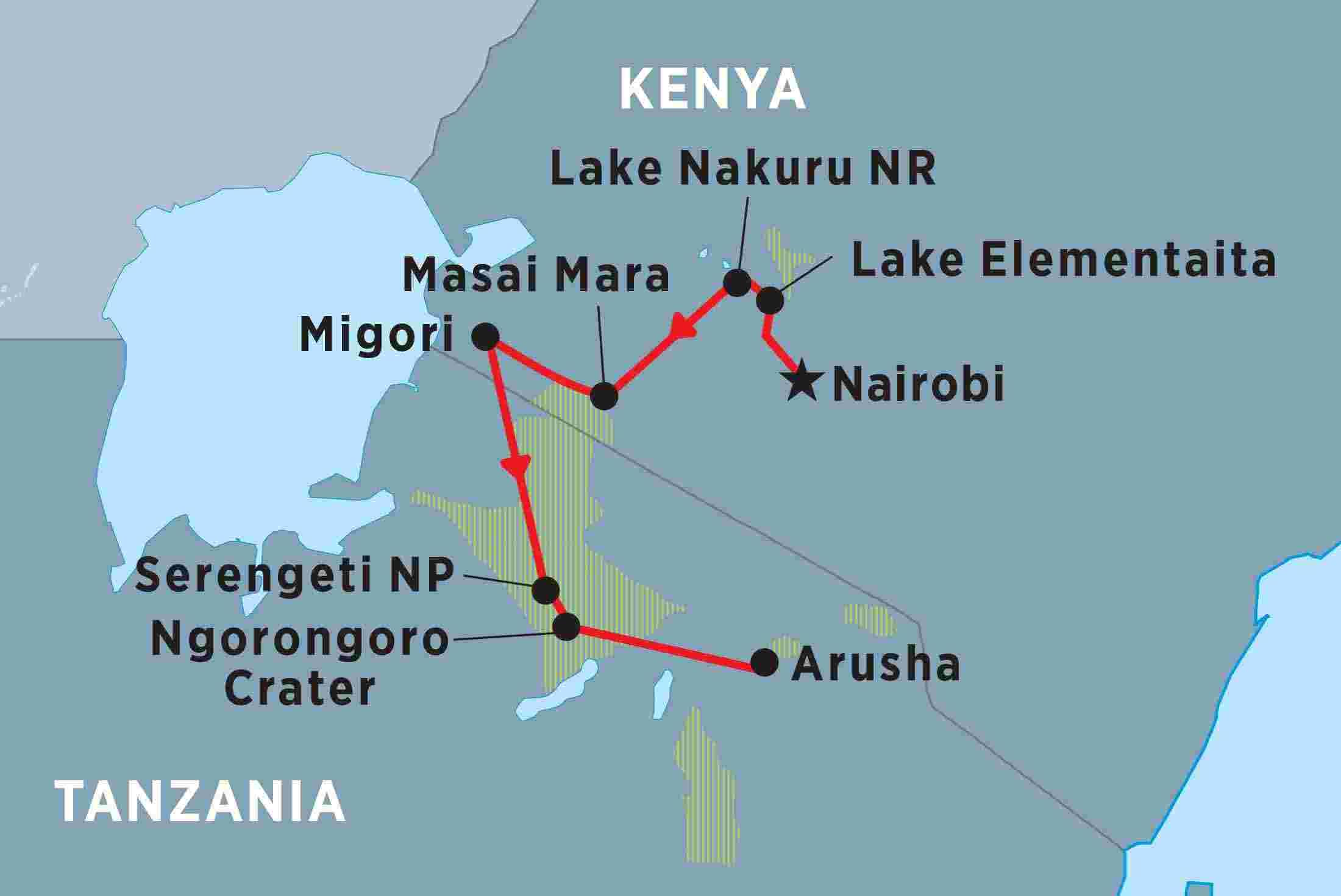 Africa's Top Wildlife Countries: Botswana, Kenya, Namibia, Rwanda, South Africa, Tanzania, Uganda, Z