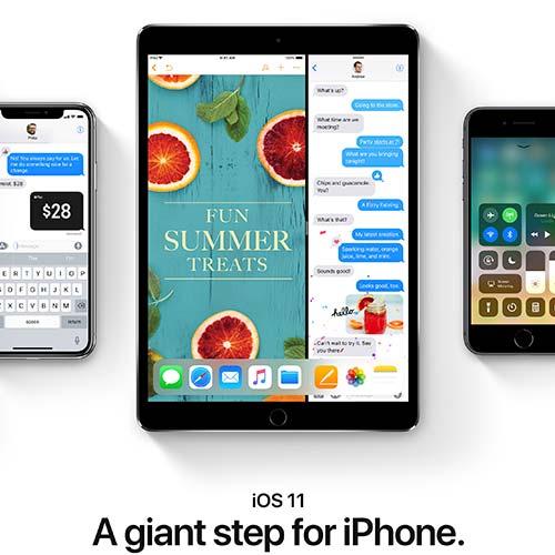 Apple iOS 11 - Peregrine Digital Media Albuquerque Web Designers