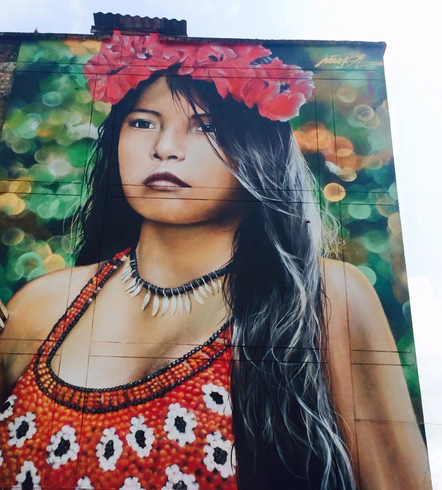 Embera-Woman-Mural-in-Pereira-1