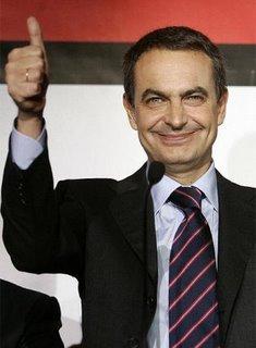 Zapatero repite victoria con más fuerza