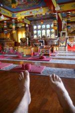 Pues sí en la Ribagorza hay hasta un templo Budista