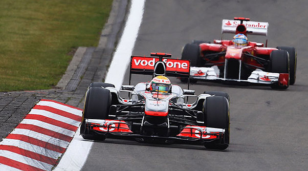 Lewis Hamilton y Fernando Alonso