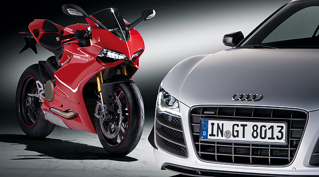 Audi es dueña de Ducati