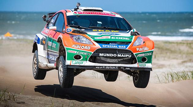 El Ford Fiesta protagonista en los medanos de Pinamar