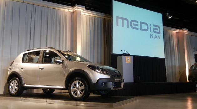 Renault presento al sistema MediaNav