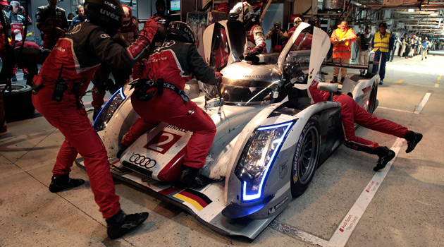 Otro triunfo de Audi en Le Mans