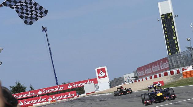 Vettel se quedo con el GP de Alemania