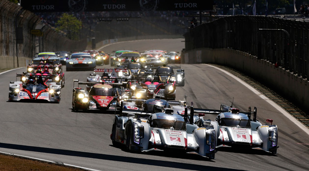 1-2 de Audi en las 6 Horas de San Pablo