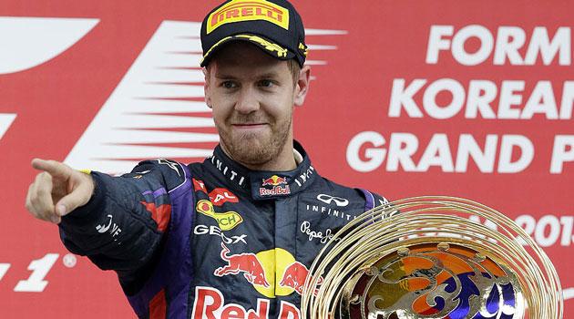 Sebastian Vettel dio otra clase magistral en Corea