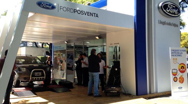 Ford Argentina ofrece un chequeo gratuito a sus clientes