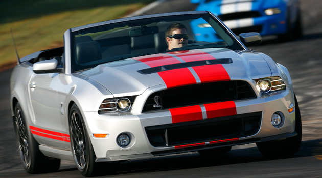 Shelby GT500 Convertible 2013