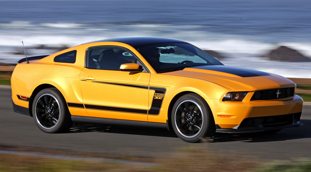 Ford Mustang Boss 302 2012