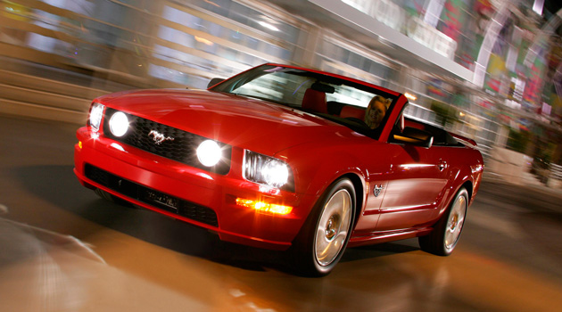 Ford Mustang Convertible 2009