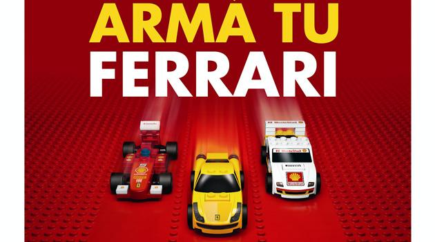 Arma tu Ferrari con Shell