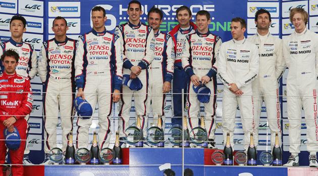 Triunfo de Toyota en las 6 Horas de Silverstone