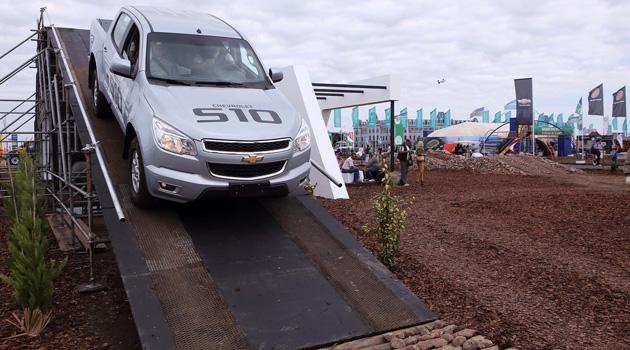 Chevrolet S10 en Agroactiva 2014