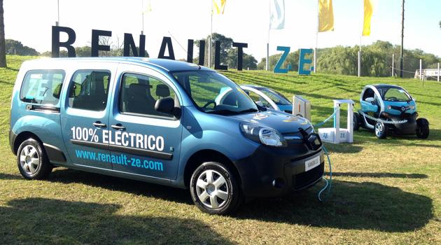 Renault prepara el lanzamiento de sus vehículos eléctricos en Argentina