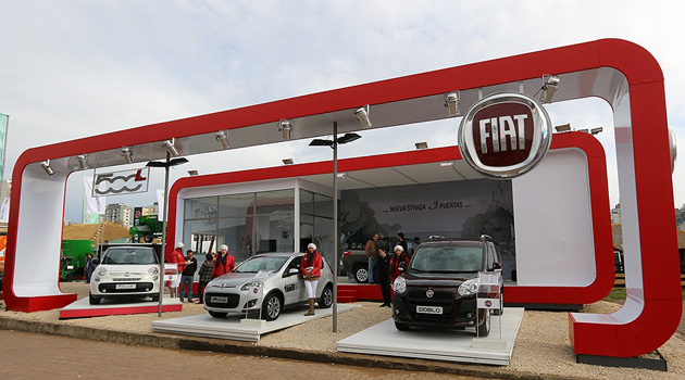 Fiat Auto Argentina está presente en La Rural