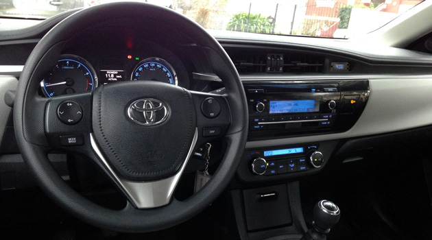 Probamos al Toyota Corolla