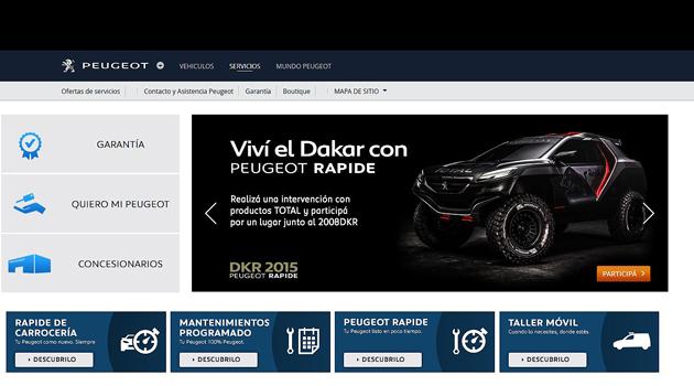 Peugeot Rapide te lleva al Dakar 2015