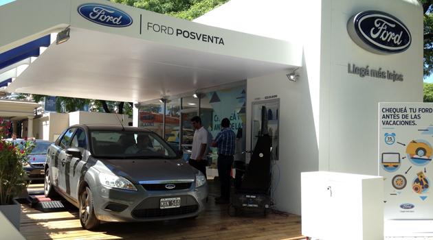 Ford ofrece un chequeo gratuito a sus clientes