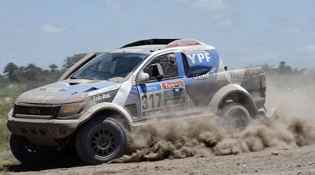 La Ford Ranger y Federico Villagra - Dakar 2015